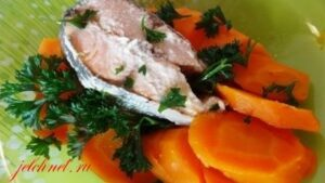 морковь на пару с рыбой