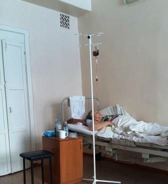пациент на больничной койке